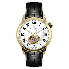 Dreyfuss & Co men's automatic black leather strap watch - Product number 1301020