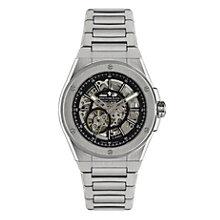 Dreyfuss & Co men's skeleton stainless steel bracelet watch - Product number 1301047