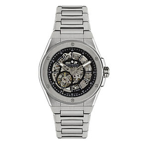 Dreyfuss & Co men's skeleton stainless steel bracelet watch - Product number 1301047