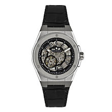 Dreyfuss & Co men's skeleton stainless steel strap watch - Product number 1301055