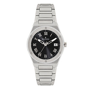 Dreyfuss & Co men's black stainless steel bracelet watch - Product number 1301071