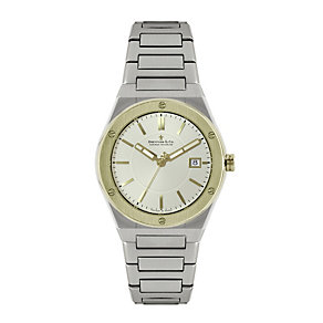 Dreyfuss & Co men's two colour bracelet watch - Product number 1301098