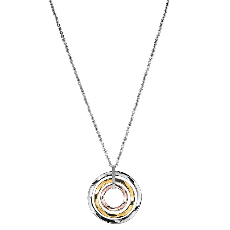 Calvin Klein three colour circle long pendant - Product number 1301136