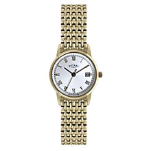 Rotary ladies' gold plated bracelet watch - Product number 1301462
