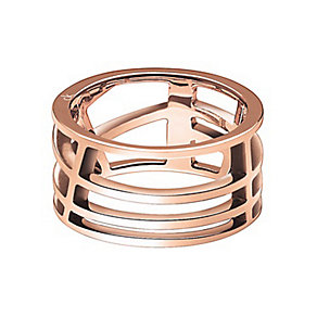 Calvin Klein Draw rose gold-plated ring - Product number 1301748