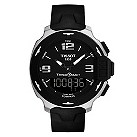 Tissot T-Race men's stainless steel black rubber strap watch - Product number 1301977
