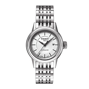 Tissot ladies' automatic stainless steel bracelet watch - Product number 1302027
