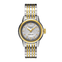 Tissot ladies' automatic two colour bracelet watch - Product number 1302035