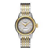Tissot ladies' automatic two colour bracelet watch - Product number 1302035