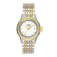 Tissot ladies' two colour bracelet watch - Product number 1302043