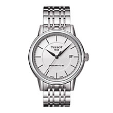 Tissot men's stainless steel automatic bracelet watch - Product number 1302078