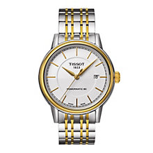 Tissot men's two tone automatic bracelet watch - Product number 1302086