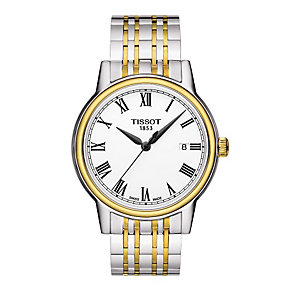 Tissot Roma men's two colour bracelet watch - Product number 1302116