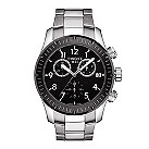 Tissot V8 men's black dial two colour bracelet watch - Product number 1302159