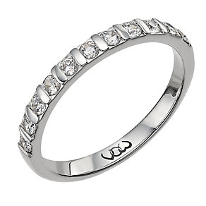 Vow Platinum0.33ct diamond bar eternity ring - Product number 1304208