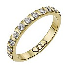 Vow 9ct gold 1/2 carat diamond bar eternity ring - Product number 1305255