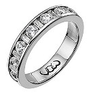 Vow Platinum one carat baguette & round diamond ring - Product number 1307509