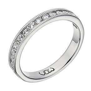 Vow palladium 950 0.33ct beaded eternity ring - Product number 1307908