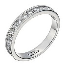 Vow platinum 0.50ct beaded eternity ring - Product number 1309080