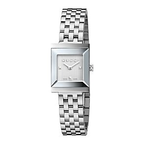Gucci G-Frame ladies' stainless steel bracelet watch - Product number 1310755
