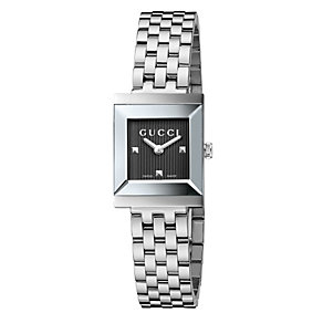 Gucci G-Frame ladies' stainless steel bracelet watch - Product number 1310763