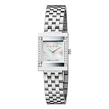 Gucci G-Frame ladies' stainless steel bracelet watch - Product number 1310771