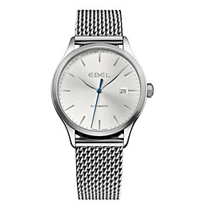 Ebel Classic 100 men's stainless steel mesh bracelet watch - Product number 1311662