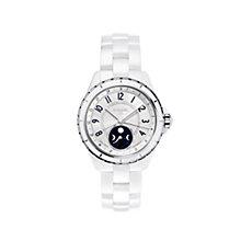 Chanel J12 Moonphase White Ceramic Bracelet Watch - Product number 1311689