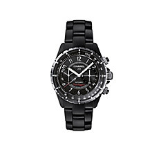Chanel J12 Super Leggera Matte Black Ceramic Bracelet Watch - Product number 1311727