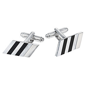 Striped Semi Precious Cufflinks - Product number 1311980