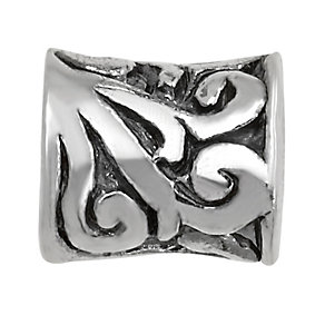 Charmed Memories Sterling Silver Swirl Bead - Product number 1313444