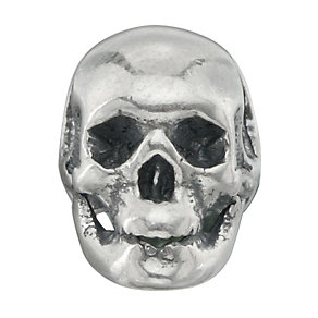 Charmed Memories Sterling Silver Skull Bead - Product number 1313460
