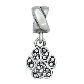 Charmed Memories With Swarovski Crystal Paw Charm Bead - Product number 1313509