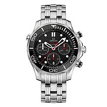 Omega Seamaster Diver 300M GMT men's bracelet watch - Product number 1314254