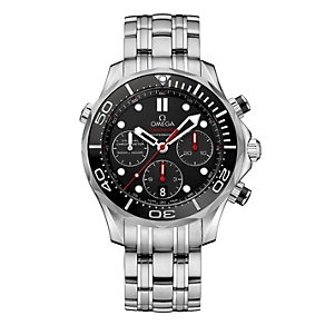 Omega Seamaster men's stainless steel bracelet watch - Product number 1314254