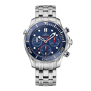 Omega Seamaster men's stainless steel bracelet watch - Product number 1314262