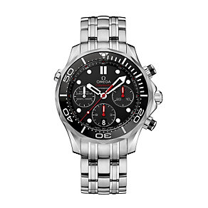 Omega Seamaster men's stainless steel bracelet watch - Product number 1314270