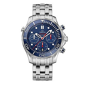 Omega Seamaster men's stainless steel bracelet watch - Product number 1314289