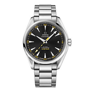 Omega Seamaster men's stainless steel bracelet watch - Product number 1314319