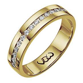 Vow 9ct gold 0.25ct diamond set 5mm ring - Product number 1316109