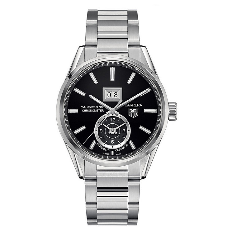 TAG Heuer Carrera men's stainless steel bracelet watch - Product number 1317342