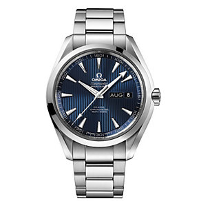 Omega Seamaster men's stainless steel bracelet watch - Product number 1318241