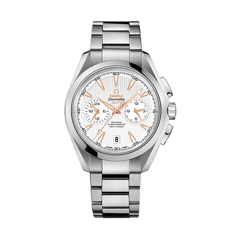 Omega Seamaster Aqua Terra men's steel bracelet watch - Product number 1318268