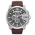 Diesel Men's Brown Leather Strap Watch - Product number 1318659