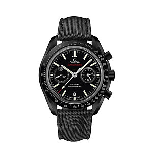 Omega Speedmaster Moonwatch men's ceramic black strap watch - Product number 1318713