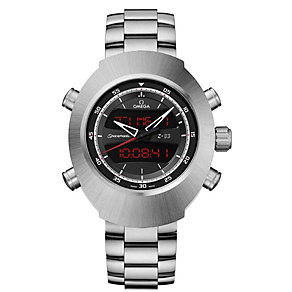 Omega Spacemaster Z-33 men's digital titanium bracelet watch - Product number 1318721