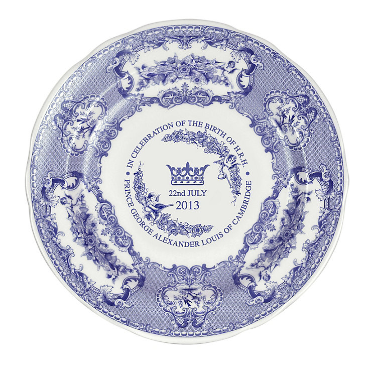 Jubilee Heritage Royal Baby Commemorative Plate - Product number 1319051