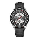 TAG Heuer Carrera men's titanium black leather strap watch - Product number 1320424
