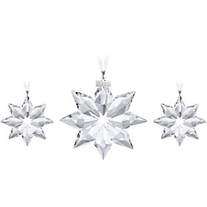 Swarovski Christmas Snowflake Ornament Set 2013 - Product number 1320521