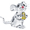 Swarovski Crystal Mouse - Product number 1320610